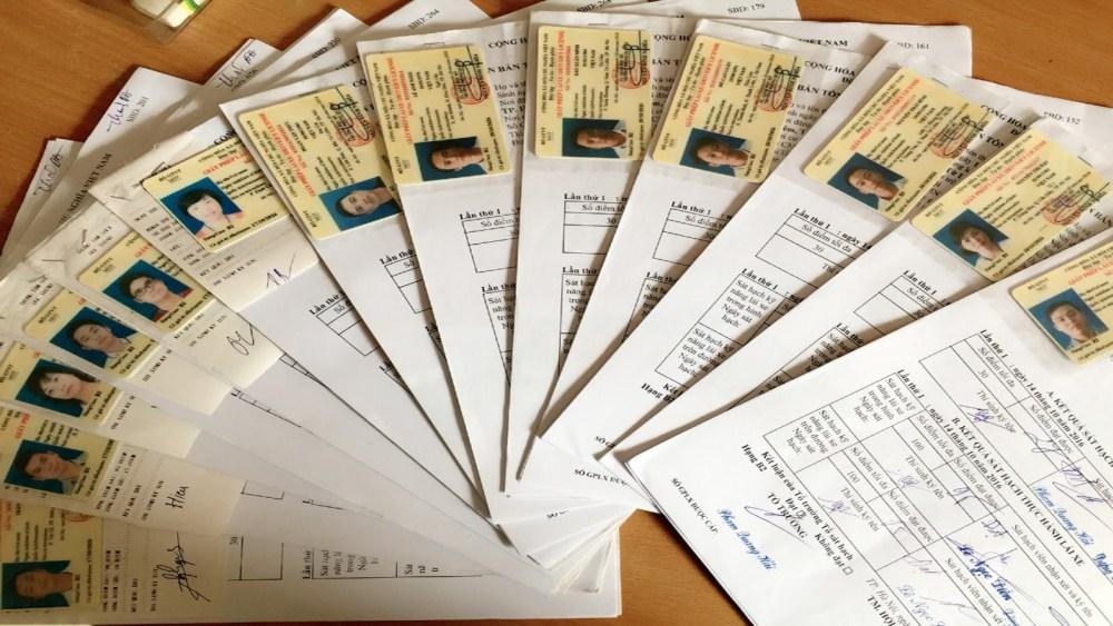 dịch vụ làm giấy tờ xe ô tô